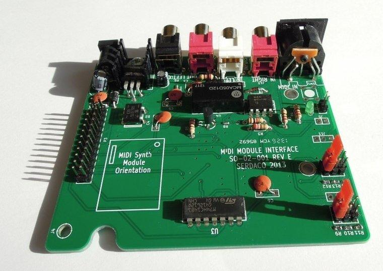 Sound Card Wavetable DB50XG NEC XR385 Waveblaster Module MIDI ...