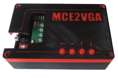 MCE2VGA with enclosure