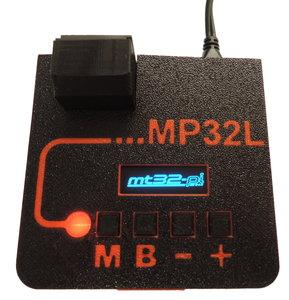 MP32L-Red enclosure for Pi3A+